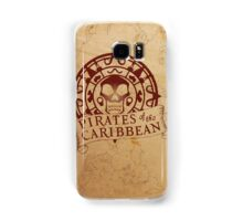 Pirates of the Caribbean Medallion 2 Samsung Galaxy Case/Skin