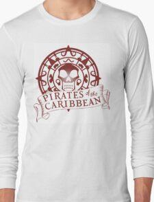 Pirates of the Caribbean Medallion 2 Long Sleeve T-Shirt