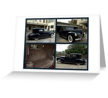 1941 Lincoln Continental City Limousine owned by Henry Ford Greeting Card