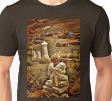 Graveyards and Ghost Towns Unisex T-Shirt