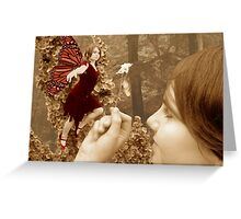 A touch of Magic Greeting Card