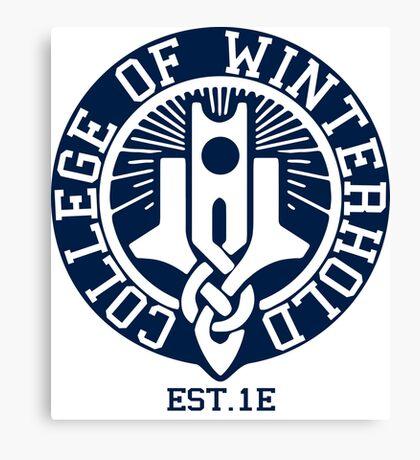 College of Winterhold Est. 1E Canvas Print