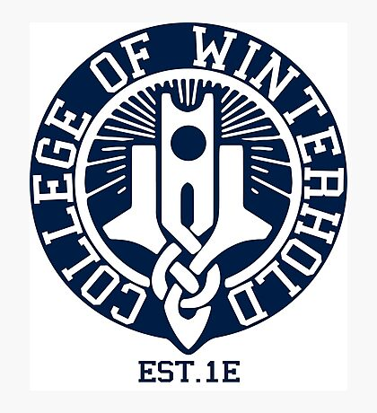 College of Winterhold Est. 1E Photographic Print