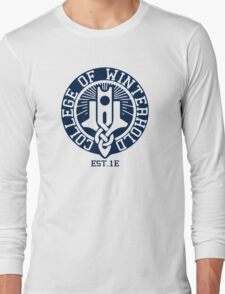 College of Winterhold Est. 1E Long Sleeve T-Shirt