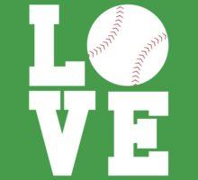 Love Baseball Kids Clothes