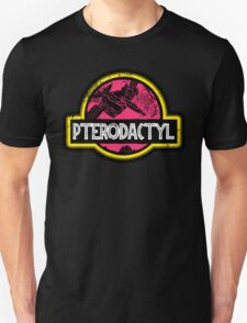 Jurassic Power Pink Unisex T-Shirt