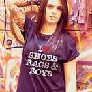 Shoes Bags & Boys by Andrew Gordon