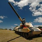 Military Tank @ Sculptures By The Sea by muz2142