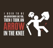 Arrow in the Knee by worldcollider