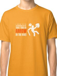 Arrow in the Knee Classic T-Shirt