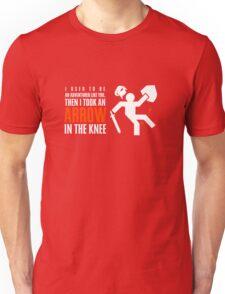 Arrow in the Knee Unisex T-Shirt