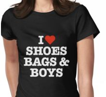391 Shoes, Bags & Boys Womens Fitted T-Shirt