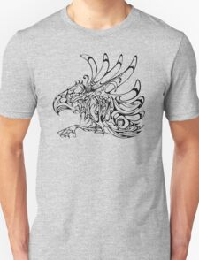 Thunderbird - aboriginal design - abstract eagle Unisex T-Shirt