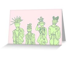 Plant People Greeting Card