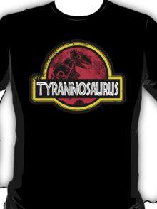 Jurassic Power Red T-Shirt