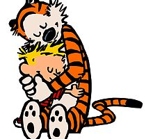 Calvin and Hobbes by BettsGalery
