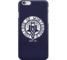 College of Winterhold Est. 1E (white) iPhone Case/Skin
