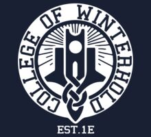 College of Winterhold Est. 1E (white) by recondroid