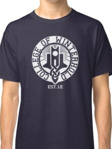 College of Winterhold Est. 1E (white) Classic T-Shirt