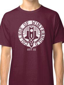 College of Winterhold Est. 1E (white) Classic T-Shirt