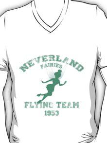 Tinkerbell - Flying Team of Neverland T-Shirt