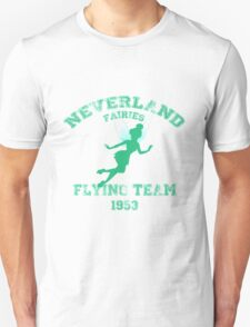 Tinkerbell - Flying Team of Neverland Unisex T-Shirt