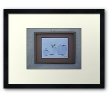 Apple Leaves Framed Print