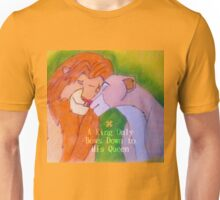 A King Only Bows Down To His Queen Unisex T-Shirt