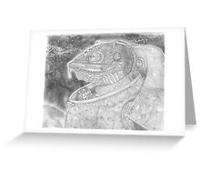 Jefwatson, the Chameleon Spacer Greeting Card