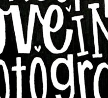 Photograph Sticker