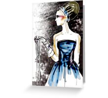 The Girl With the Ribbon Lasso : The Beehive and the Git Greeting Card
