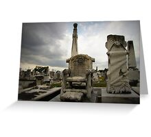 untitled grave I Greeting Card
