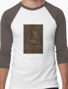 Lincoln Gettysburg Address -- Buy Liberty Bonds  Men's Baseball ¾ T-Shirt