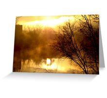 A New Dawn Rising Greeting Card