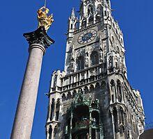 Neues Rathaus #1 - Munich, Germany by David J Dionne