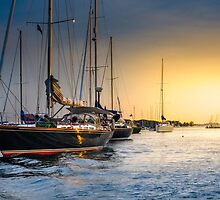 Manchester-by-the-Sea Harbor by Alex Crinzi