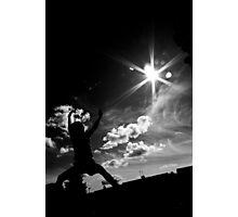 My son  the Karate Kid  Photographic Print