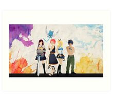The Protagonists - Fairy Tail  Art Print
