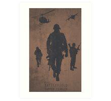 Battlefield Samper Fidelis Gaming Poster Art Print