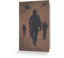 Battlefield Samper Fidelis Gaming Poster Greeting Card