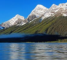 Lower Spray Lake by Michael Collier