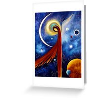 """Lunar Angel"" Greeting Card"