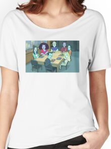 Community Study Group Rick and Morty edition Women's Relaxed Fit T-Shirt