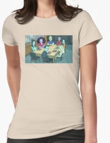 Community Study Group Rick and Morty edition Womens Fitted T-Shirt