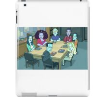 Community Study Group Rick and Morty edition iPad Case/Skin