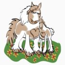 Gypsy Cob Mother's Love by Diana-Lee Saville
