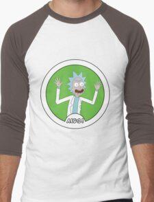 Rick and Morty: AIDS! Men's Baseball ¾ T-Shirt