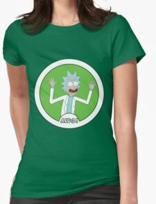 Rick and Morty: AIDS! Womens Fitted T-Shirt