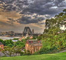 Harbour Bridge from Observatory Hill by andreisky