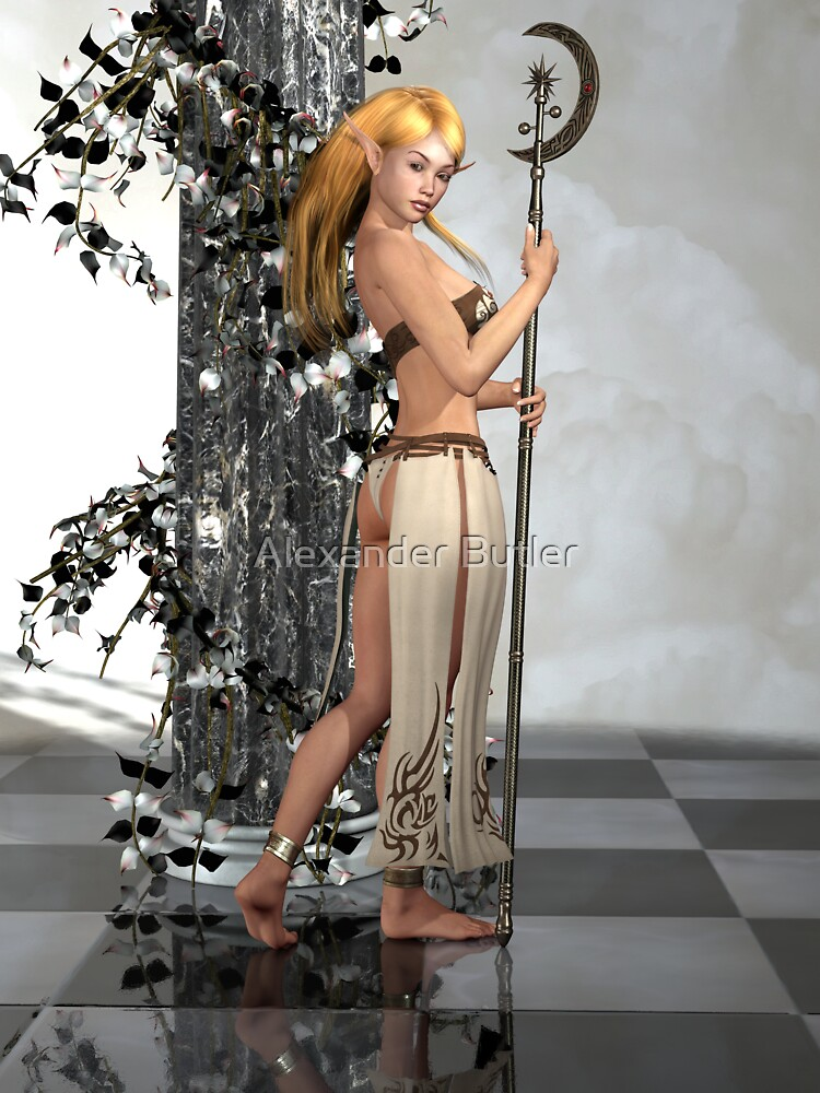 Elf Princess by Alexander Butler